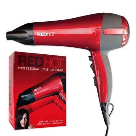 Redhot Professional Hair Dryer - 2000w